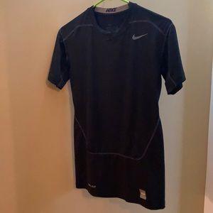 Boy's Nike compression athletic shirt